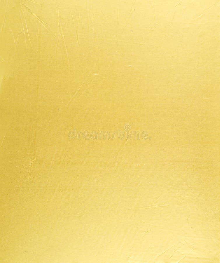 抽象背景金黄金属照片 免版税库存图片