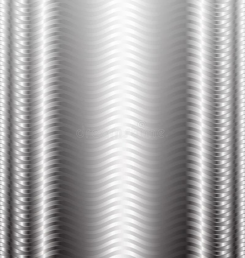 抽象背景银技术 向量例证
