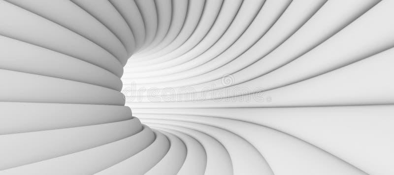 抽象背景隧道 皇族释放例证
