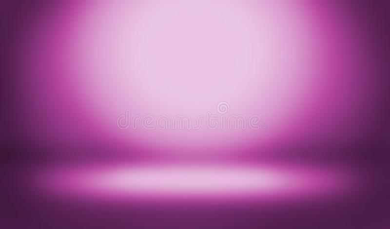 抽象背景颜色 空的室演播室涌出用途作为backdr 库存例证