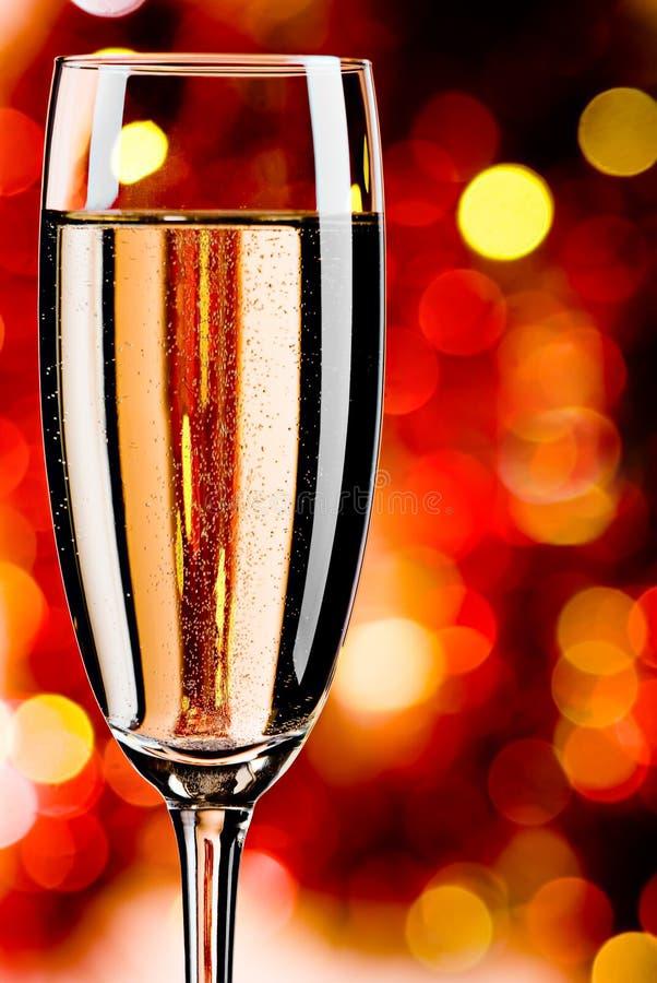 抽象背景香槟 免版税库存图片