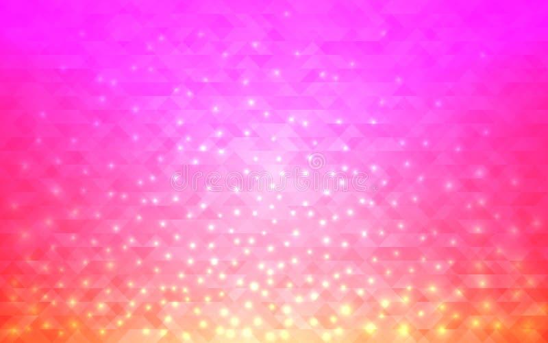 抽象背景魔术 与明亮的光的被弄脏的梯度 网或海报的现代设计 也corel凹道例证向量 库存例证