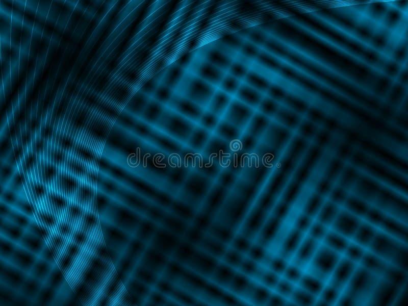 抽象背景黑色蓝色黑暗的口气 库存例证