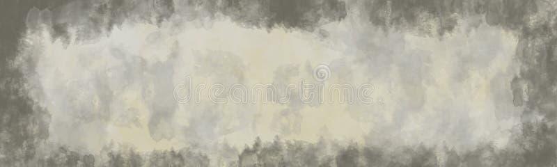 抽象背景,与边界的葡萄酒纹理 皇族释放例证