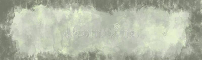 抽象背景,与边界的葡萄酒纹理 库存例证