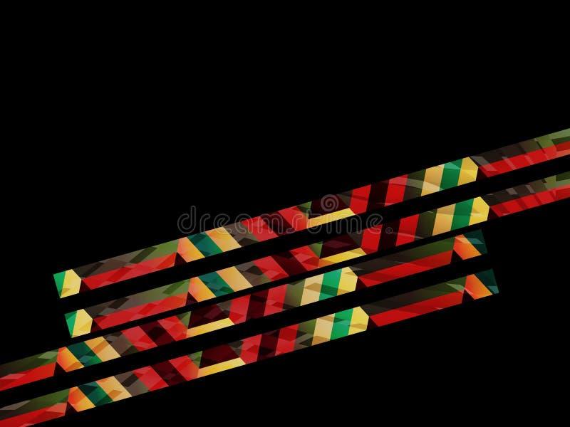 抽象背景,几何设计,传染媒介例证 色的表面的几何tesselation 皇族释放例证