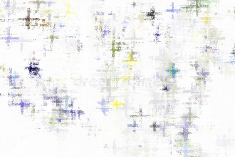 抽象背景,摘要五颜六色在白色背景,罐头使用为背景 向量例证