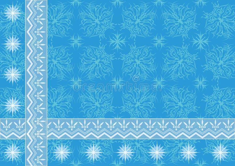 抽象背景,蓝色 向量例证