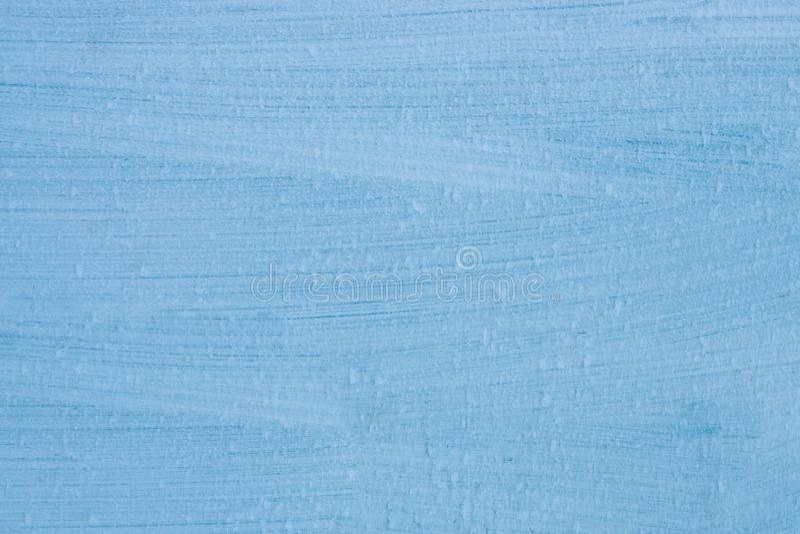 抽象背景,金属纹理,条纹,蓝色油漆和用霜盖, 免版税库存图片