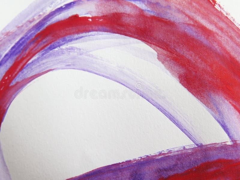抽象背景绘了水彩 库存图片
