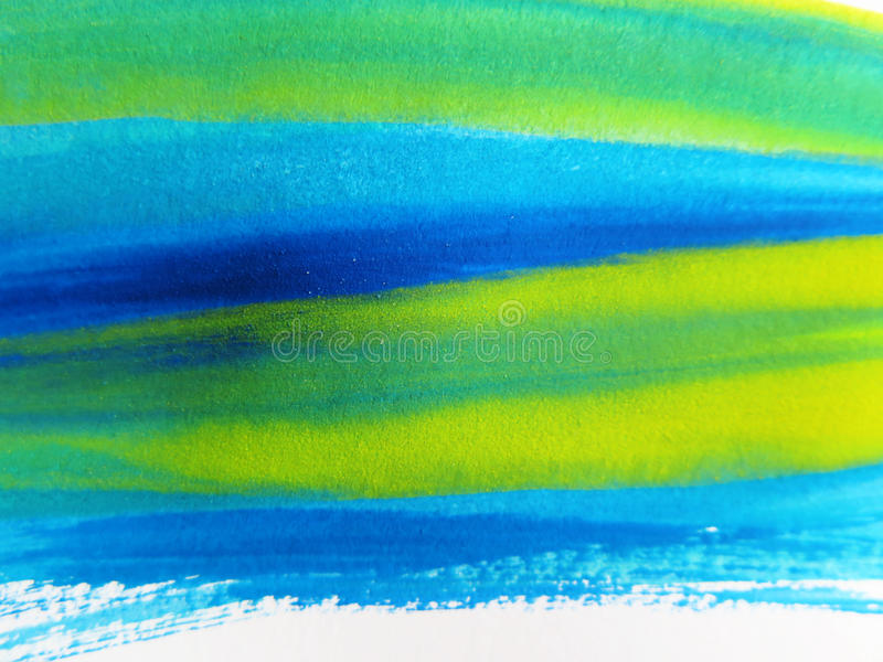 抽象背景绘了水彩 向量例证