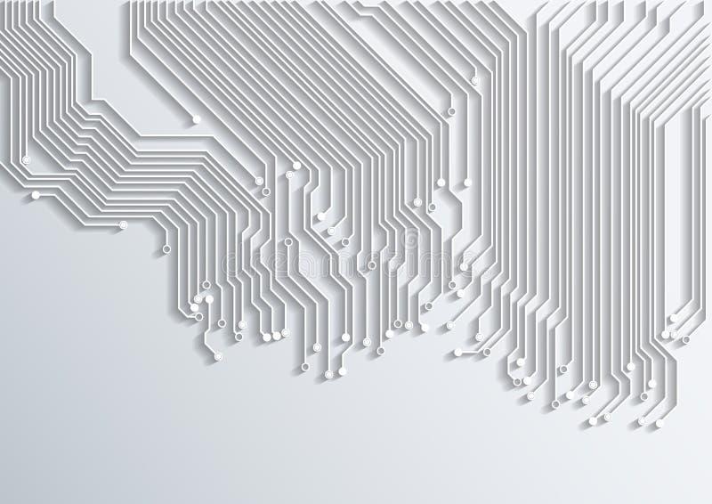 抽象背景-光栅版本 向量例证