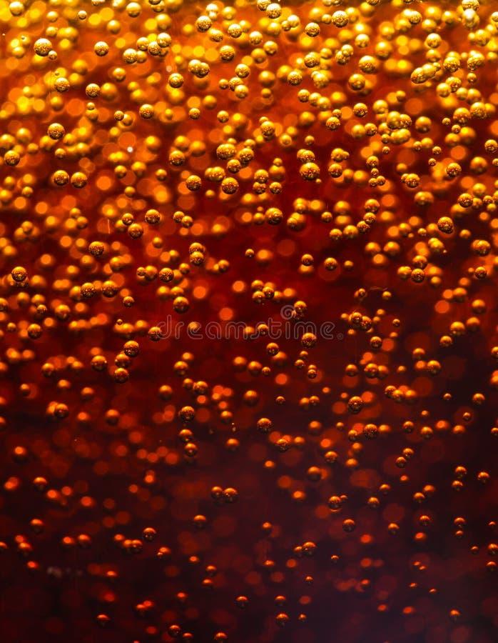 抽象背景 可乐 免版税库存照片