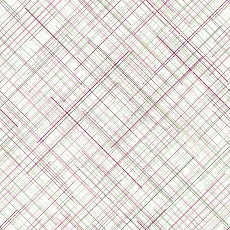 抽象背景 对角任意线 苍白颜色 无缝 库存例证
