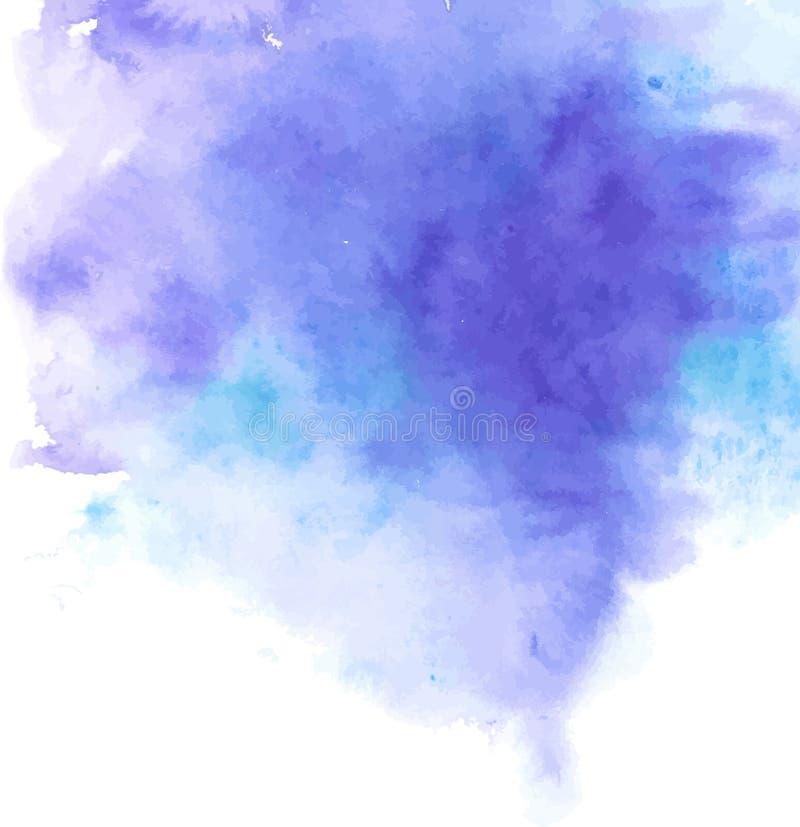 抽象背景水彩 向量 库存例证