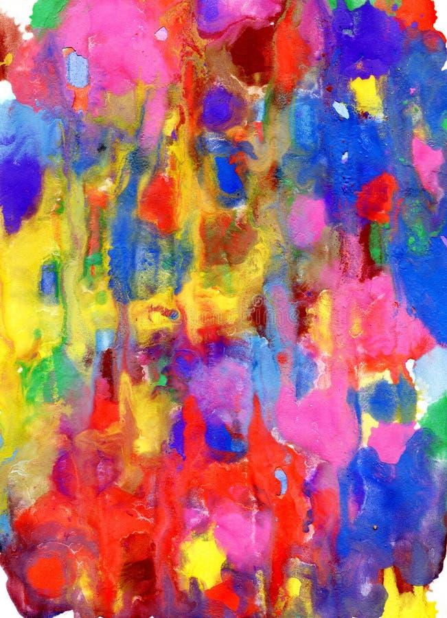 抽象背景水彩 水彩纹理 装饰 免版税库存图片