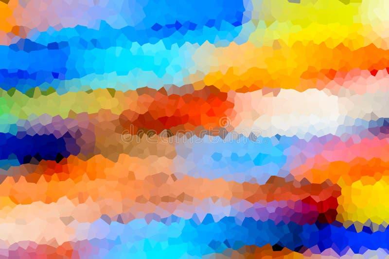 抽象背景结晶 图库摄影