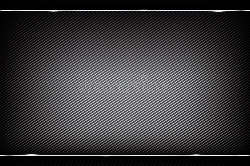 抽象背景黑暗和黑碳纤维传染媒介 向量例证