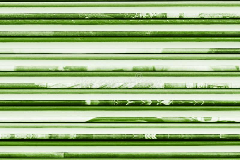 抽象背景绿色书套 库存照片