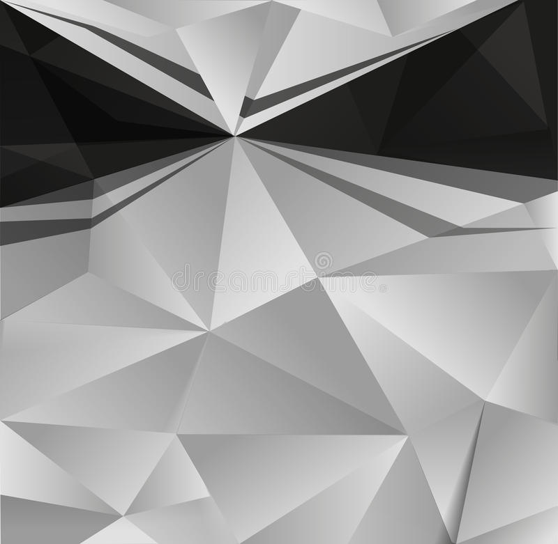 抽象背景黑色白色 皇族释放例证