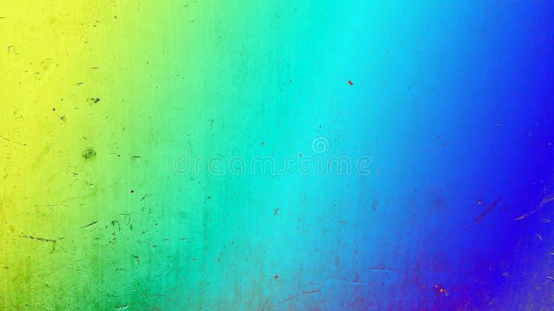 抽象背景 难看的东西构造了与黄色的背景对蓝色被定调子的梯度 免版税库存照片