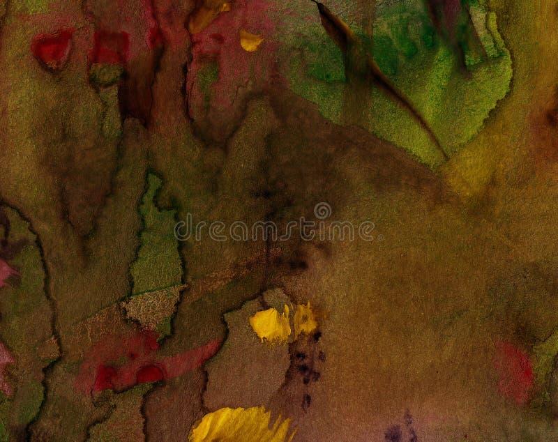 抽象背景绘画 免版税库存图片