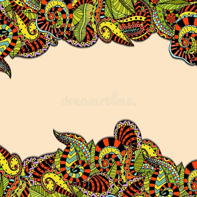 Download 抽象背景 向量例证. 插画 包括有 设计, 本质, 墨水, 艺术, 叶子, 乱画, 海洋, 国界的, 花卉 - 59104515