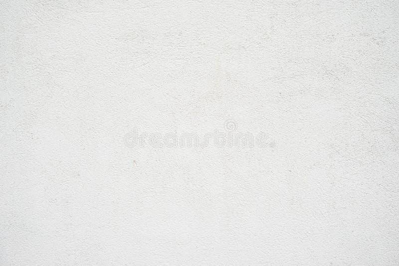 抽象脏的空的背景 空白的白色混凝土墙纹理照片  灰色被洗涤的水泥表面 水平 免版税库存图片