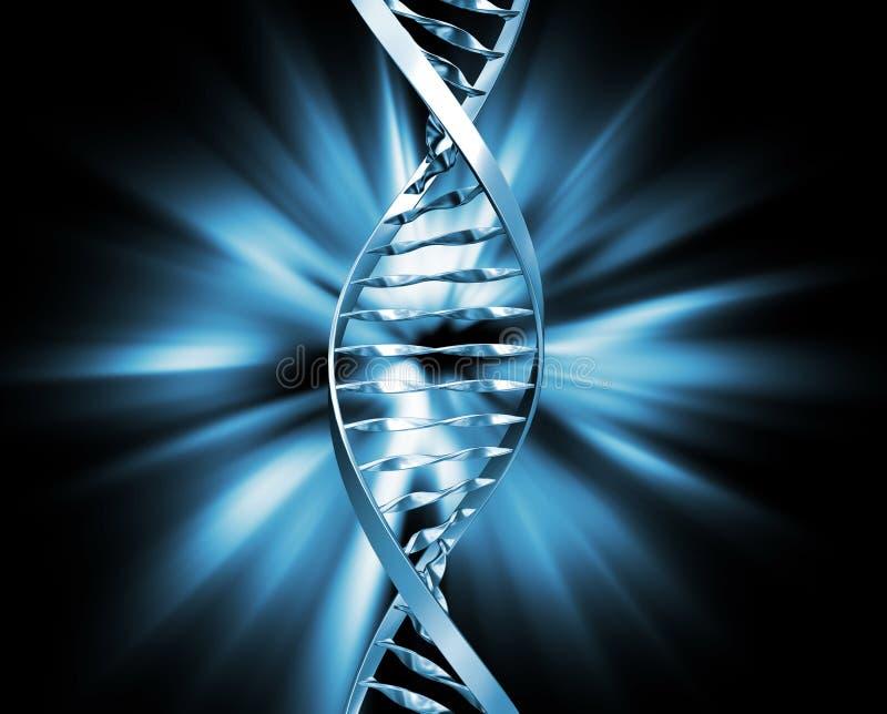 抽象脱氧核糖核酸 库存例证