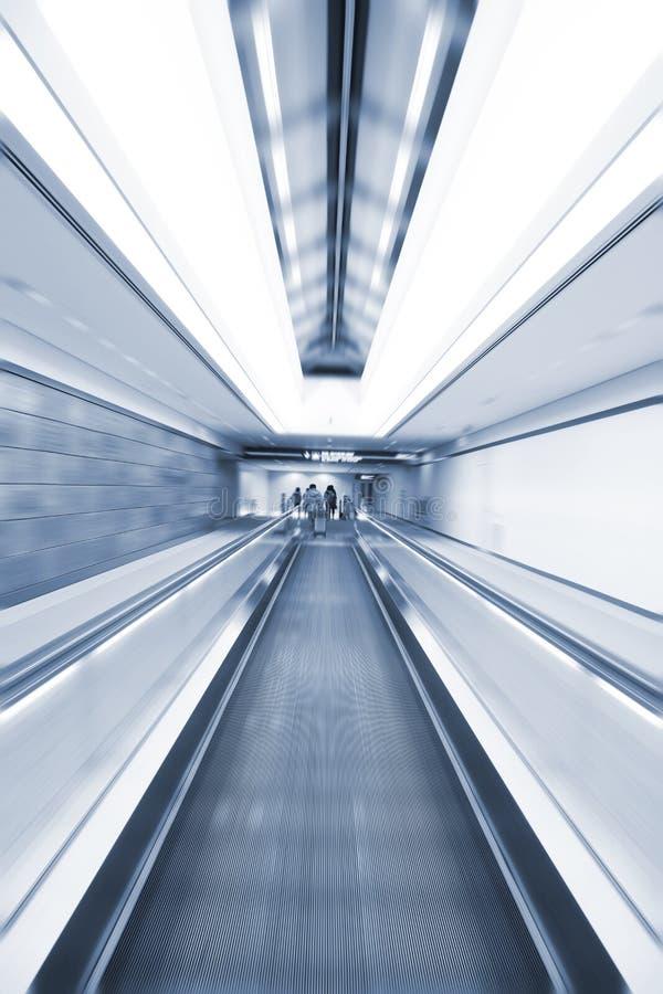 抽象自动扶梯 免版税库存图片