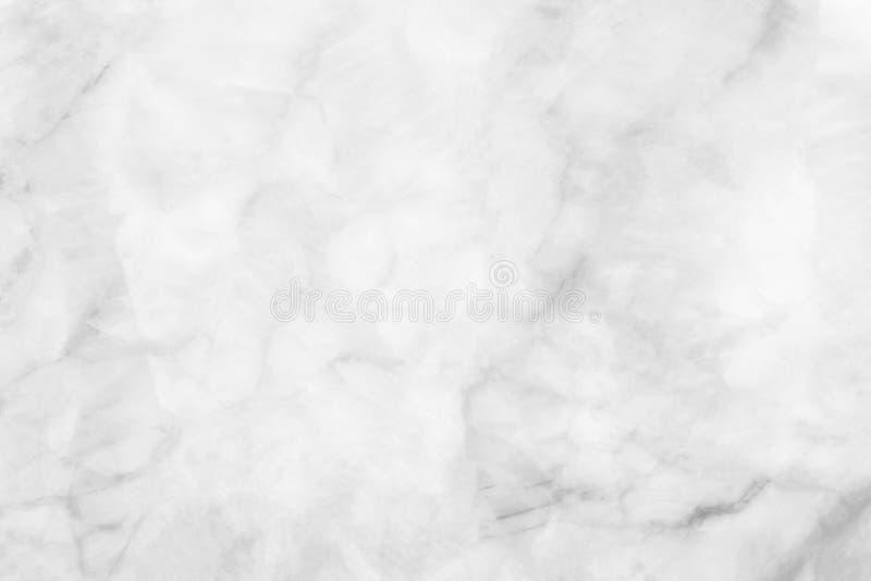抽象自然大理石黑白灰色白色大理石纹理背景高分辨率/被构造大理石地板 免版税库存照片