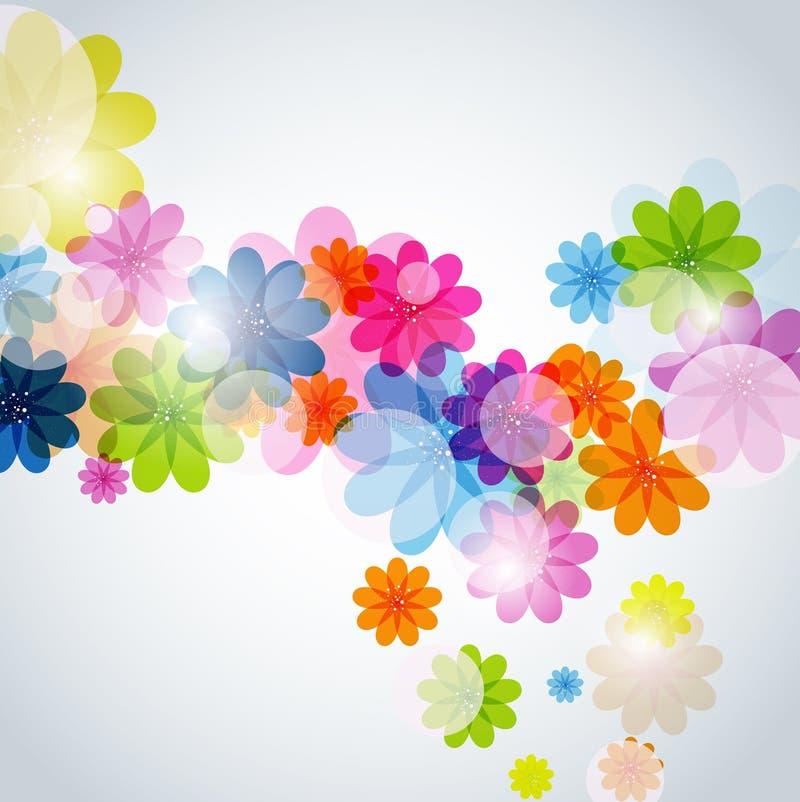 Download 抽象花卉背景 库存例证. 插画 包括有 彩虹, 角落, 装饰品, 过帐, 艺术, beautifuler - 30335208