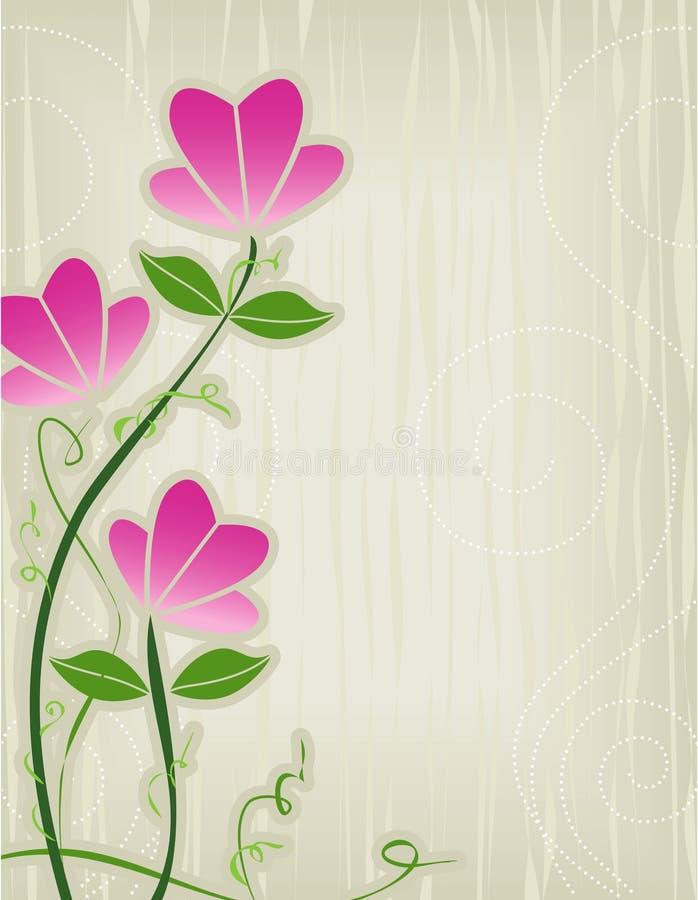 抽象花粉红色 皇族释放例证