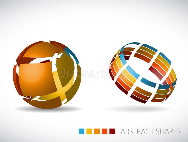 Download 抽象范围 库存例证. 插画 包括有 颜色, 夹子, 蓝色, 艺术性, 抽象, 数位, 图画, 尺寸, 地球 - 15680155