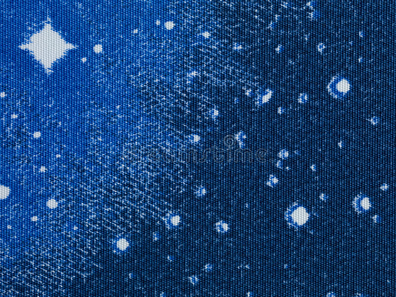 抽象蓝星纹理白色 皇族释放例证