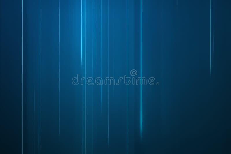 抽象蓝线背景 皇族释放例证