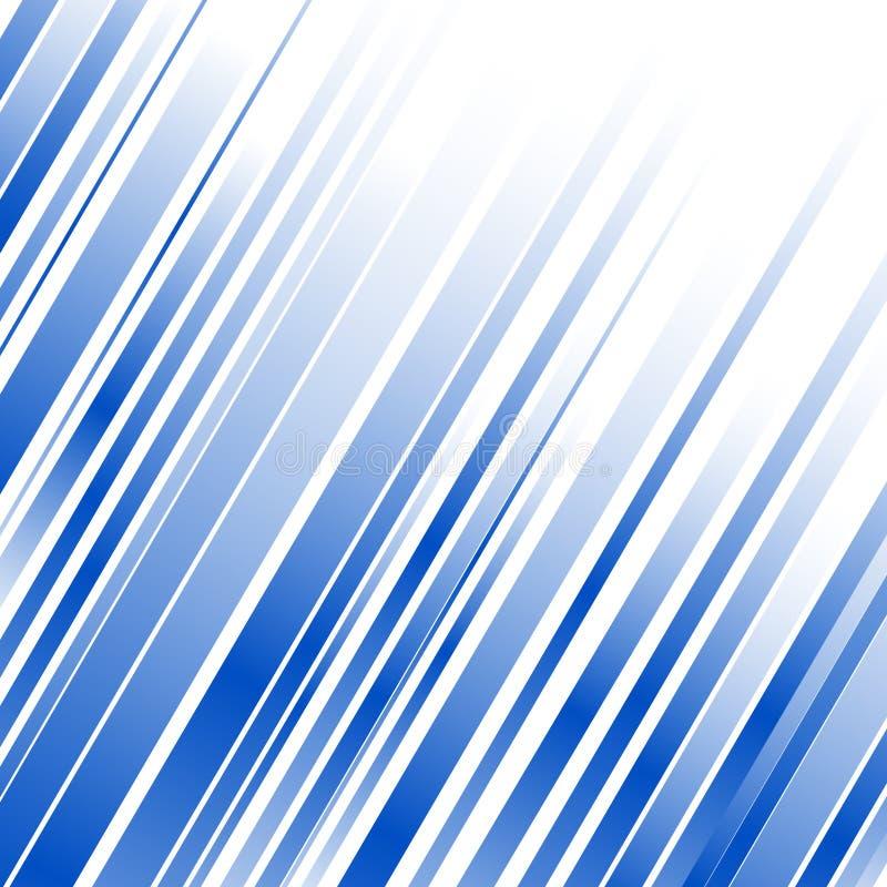 抽象蓝线 皇族释放例证