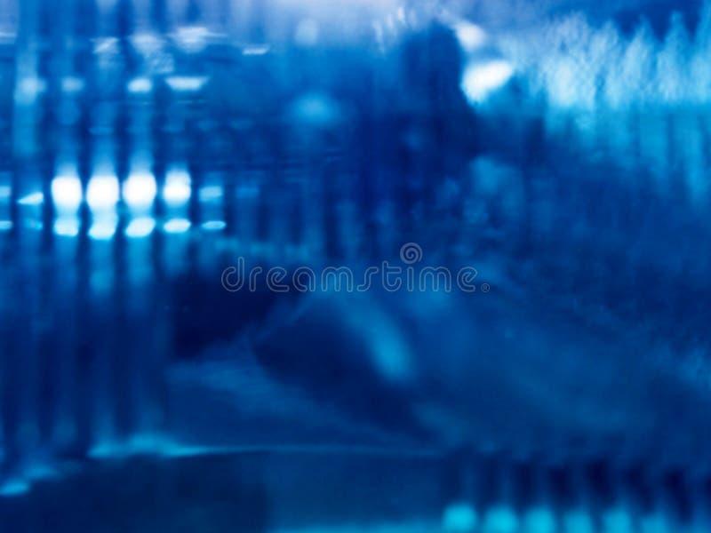 抽象蓝色光 免版税库存照片
