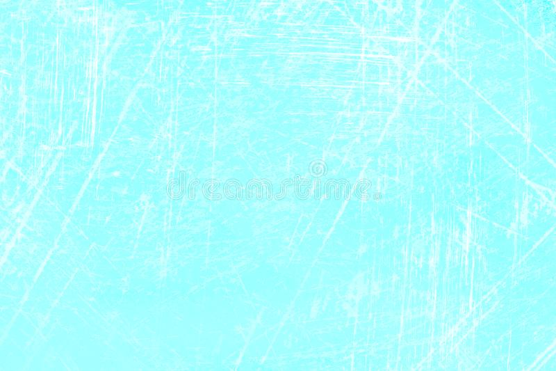 抽象蓝色冰面 库存例证