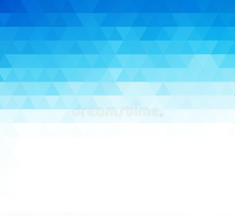 抽象蓝色几何技术背景 皇族释放例证