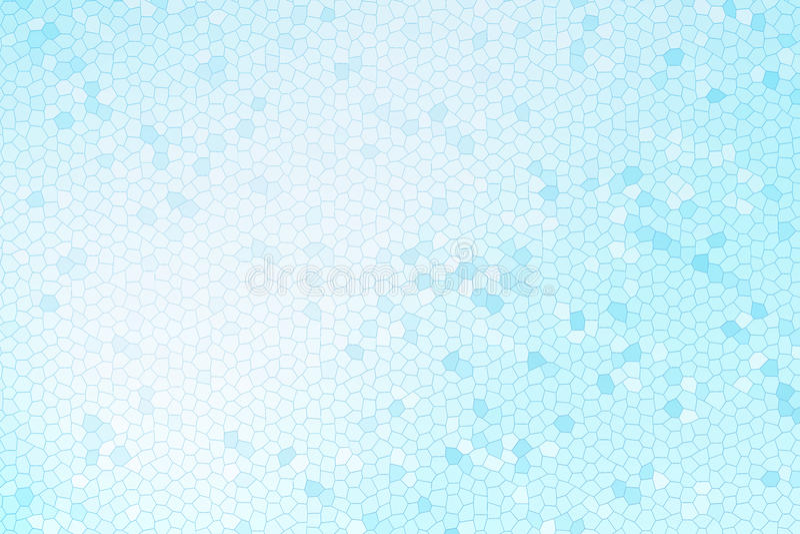 抽象蓝色彩色玻璃 库存图片