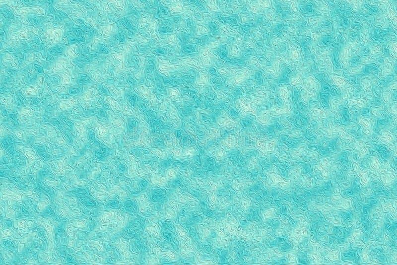 抽象蓝色数字式油漆纹理墙纸背景 皇族释放例证