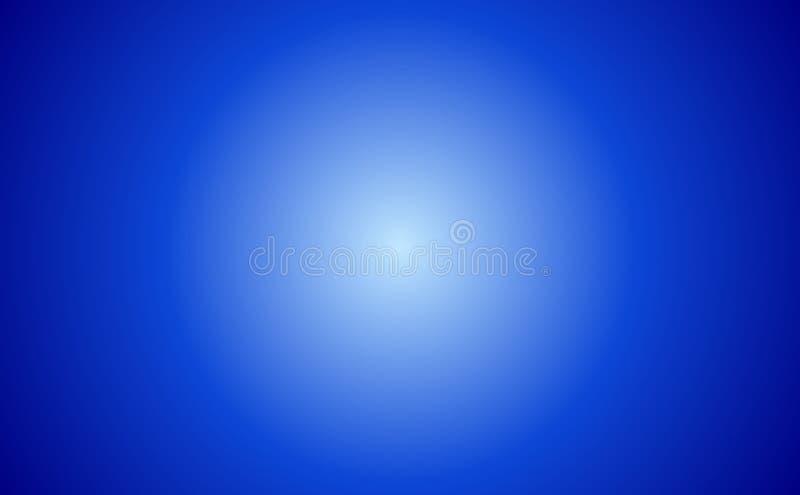 抽象蓝色旭日形首饰 向量例证
