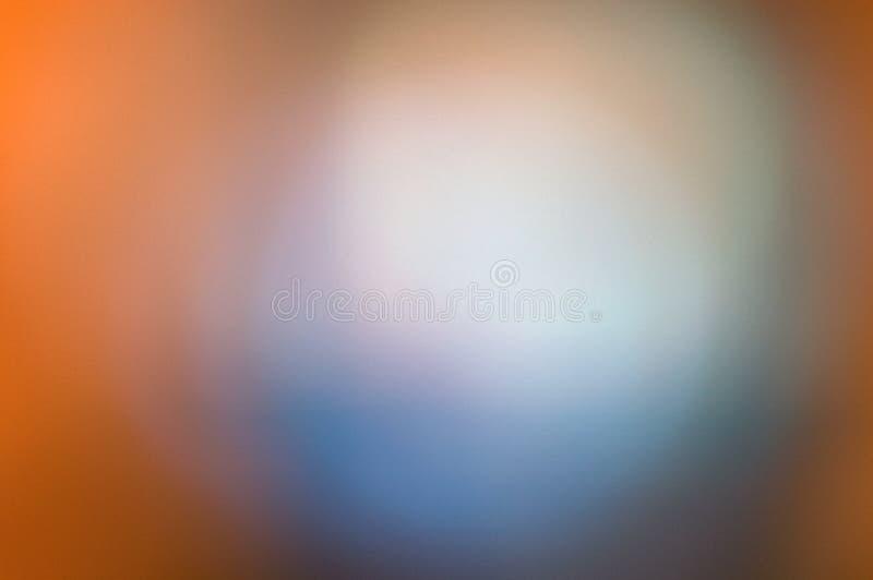 抽象蓝色桔子 免版税库存照片