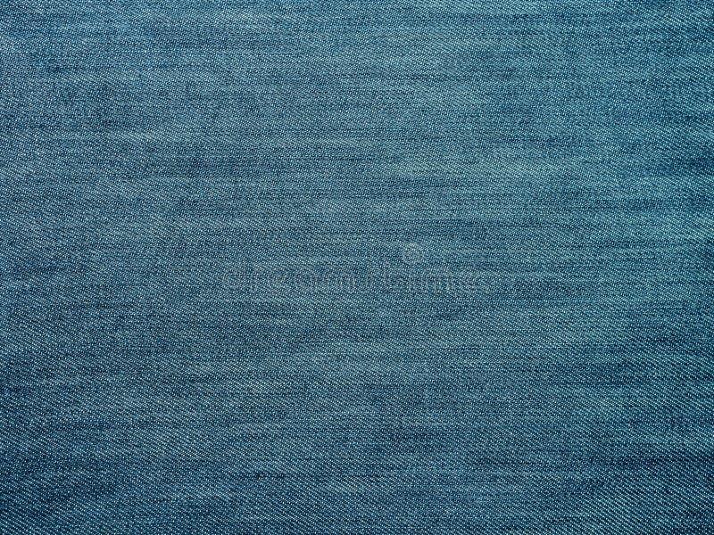 抽象蓝色牛仔裤织品纹理背景 库存图片