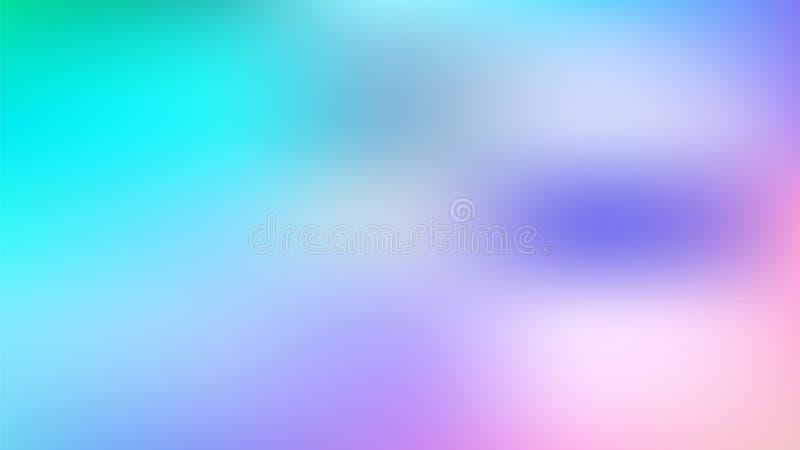 抽象蓝色紫罗兰桃红色梯度背景 库存例证