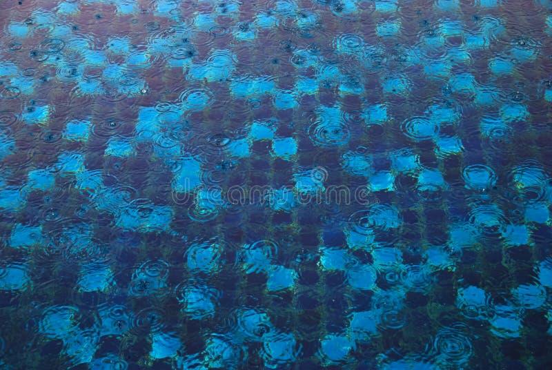 抽象蓝色纹理 库存照片