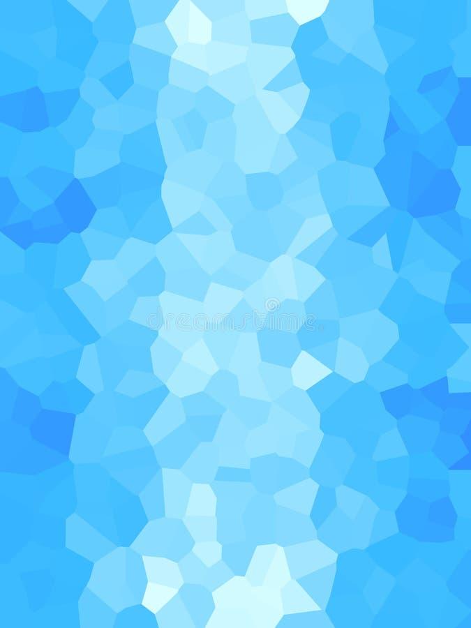 抽象蓝色纹理 免版税库存照片