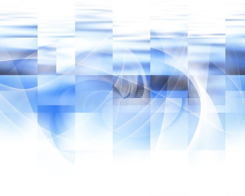 抽象蓝色背景 向量例证