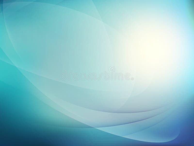 抽象蓝色背景 10 eps 皇族释放例证